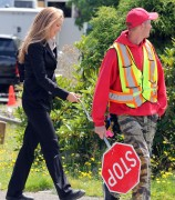 Anna Torv on the set of 'Fringe' in Vancouver, Canada, 2 August, x14