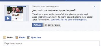 Essayer le nouveau profil facebook ? C'est possible, A Unix Mind In A Windows World