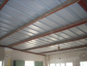 Cielorraso desmontable garaje taringa for Como hacer un techo economico