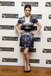 Анна Кендрик, фото 1095. Anna Kendrick 50/50 Premiere at the 55th BFI London Film Festival October 13, 2011, foto 1095