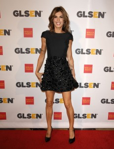 Элизабетта Каналис, фото 1149. Elisabetta Canalis the 2011 'GLSEN Respect Awards' in LA, 21.10.2011, foto 1149