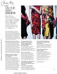 Клменс Пози, фото 141. Clmence Posy Jalouse Magazine (French) November 2011 (Tagged), foto 141
