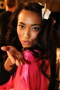 Anais Mali backstage at the Victoria's Secret Fashion Show 2011, 9 November, x5