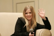 Аврил Лавин, фото 13963. Avril Lavigne Press Conference For The New Year Gala In Wuhan China - December 30, 2011, foto 13963