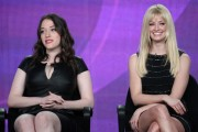 Kat Dennings & Beth Behrs - 2012 Winter TCA Tour (1-11-12)