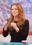 "Kimberley Walsh at ""Loose Women"" in London, 19 January, x7"
