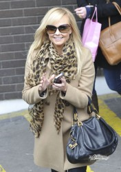 Эмма Бантон, фото 2271. Jan. 23th - London - Emma Bunton Leaving ITV Studios, foto 2271