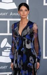 Лили Олдридж, фото 368. Lily Aldridge - 54th annual Grammy Awards, february 12, foto 368