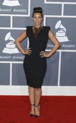 Алиша Киз (Алисия Кис), фото 3096. Alicia Keys 54th annual Grammy Awards - 12/02/2012 - Red Carpet, foto 3096