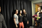 Joanna Levesque (JoJo) - KISS 107.5 FM Lounge - February 8, 2012