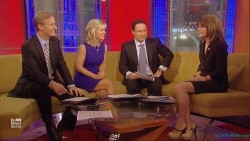 Sarah Palin---15.02.2012--legs--High Heels--Interview--FOX NEWS