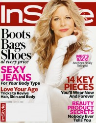 Meg Ryan x6 Instyle (US) October, 2008